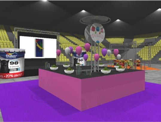 Conception de stands pour foires, salons et expositions